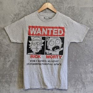Ripple Junction Rick and Morty grey tee